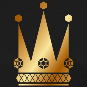 Ornate-golden-king-royal-crowns-vector - Women's T-Shirt