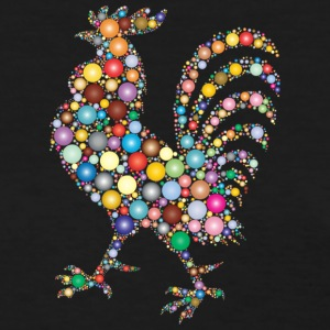 Colorful Rooster - Women's T-Shirt