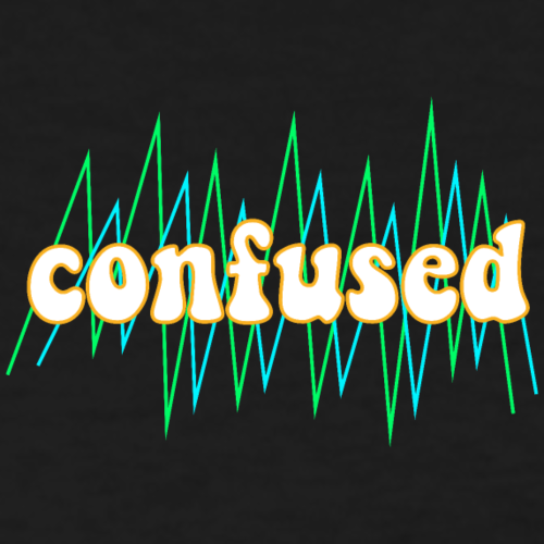 Confused - Women's T-Shirt