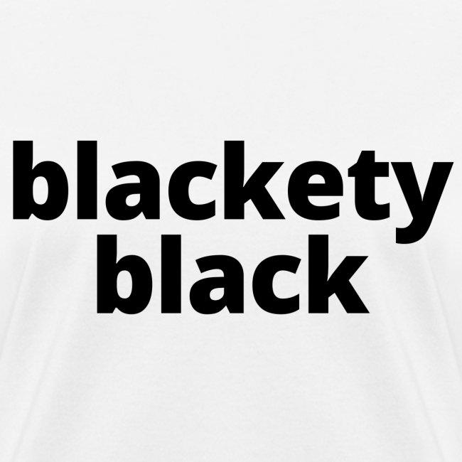 Blackety Black 12
