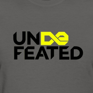 Undefeated (Jesus Fish) - Women's T-Shirt