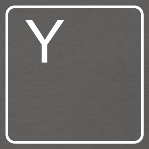 Y Key (White) - Women's T-Shirt