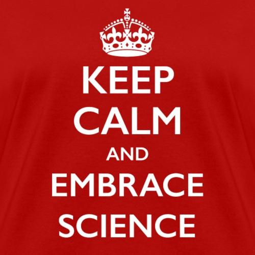 Keep Calm Science dark - Women's T-Shirt