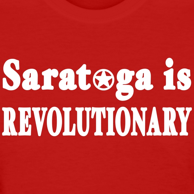 New York Old School Saratoga is Revolutionary Shir