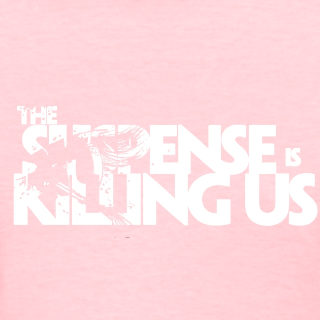 Suspense Is Killing Us White Logo