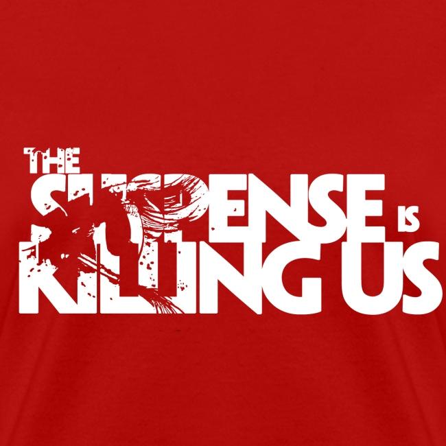 Suspense Is Killing Us White Logo