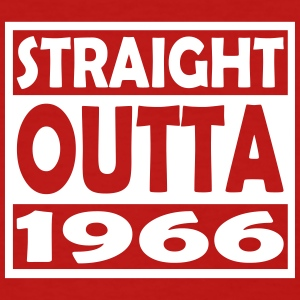 51st Birthday T Shirt Straight Outta 1966 - Women's T-Shirt