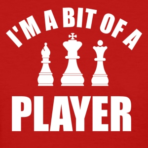 player chess - Women's T-Shirt