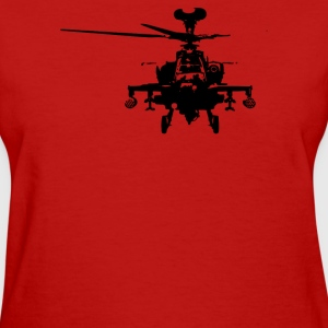 Military Attach Helicopter Gunship - Women's T-Shirt