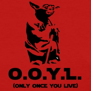 YODA You only live once - Women's T-Shirt