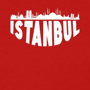 Istanbul Turkey Cityscape Skyline - Women's T-Shirt