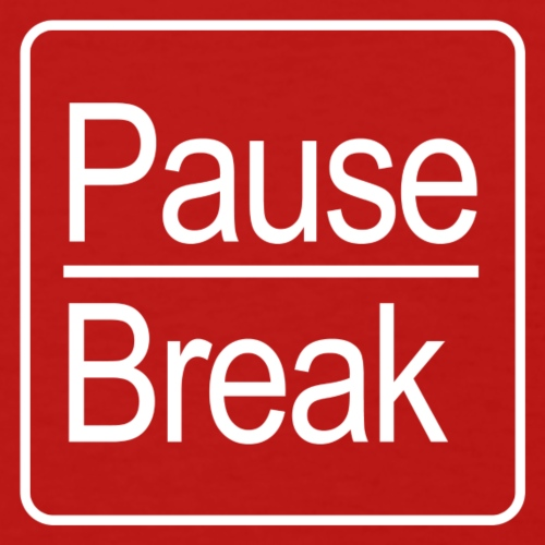 Pause/Break Key (White) - Women's T-Shirt