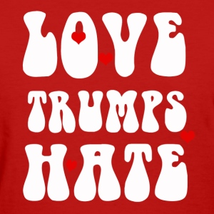 Anti Trump designs - Women's T-Shirt