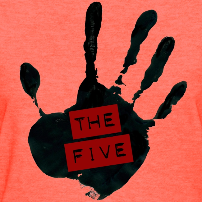 the five logo black on transparent