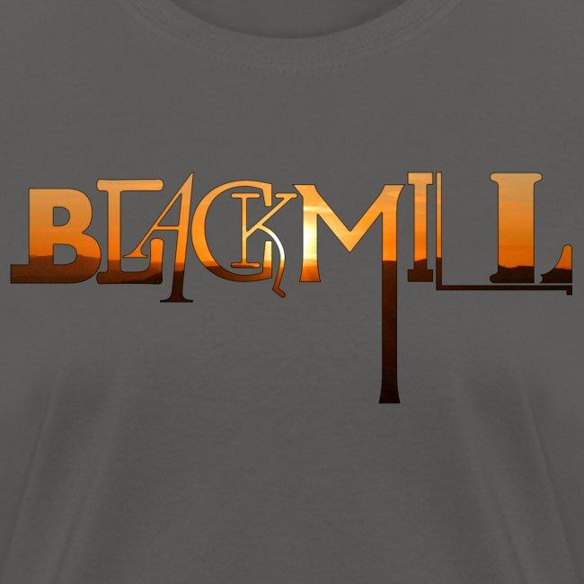 BLACKMILL small Fonts orange