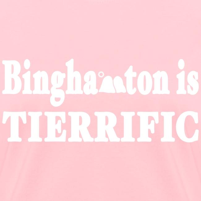 New York Old School Binghamton is Tierrific Shirt