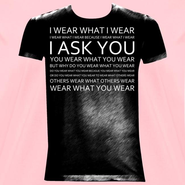 I ask You black