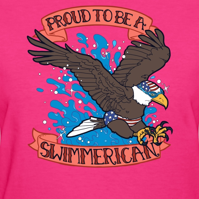 Proud To Be A Swimmerican