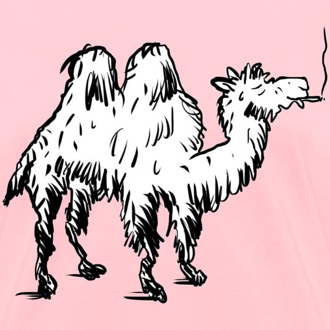Camel Smoking on Hump Day