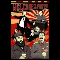Welcome to the communist party