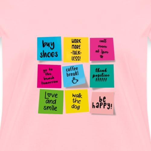 Sticky Notes - Women's T-Shirt