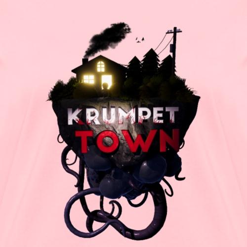 Krumpet Town 3D Logo - Women's T-Shirt