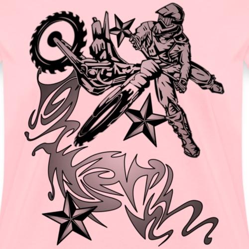 Flammed Dirt Biker light - Women's T-Shirt