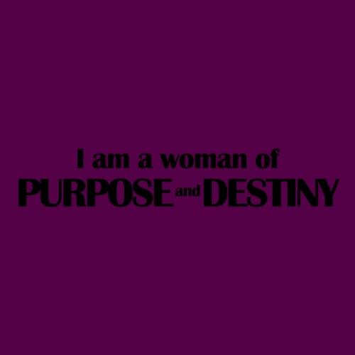 purpose_destiny_tshirt_bl - Women's T-Shirt