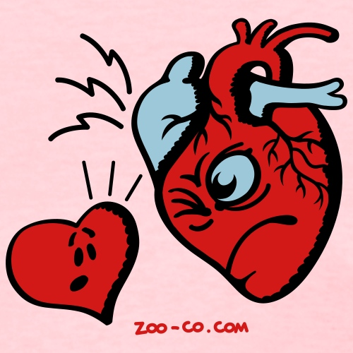 Heart vs Heart - Women's T-Shirt