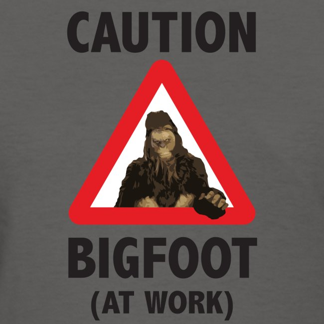 Bigfoot At Work