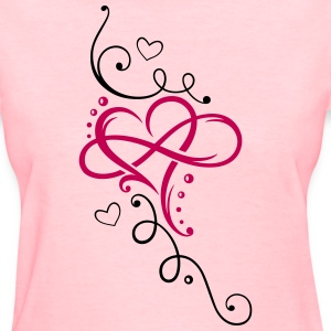 Heart and infinity - Women's T-Shirt