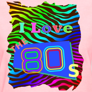 I love the 80s 001 - Women's T-Shirt