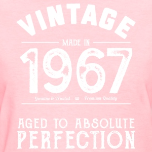 Funny 50th Birthday Present: Vintage 1967 T-Shirt - Women's T-Shirt