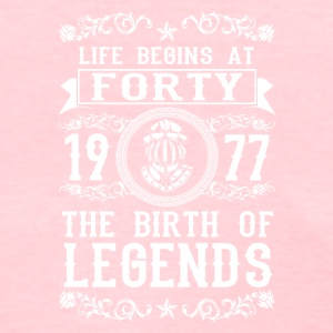 1977 - 40 years - Legends - 2017 - Women's T-Shirt