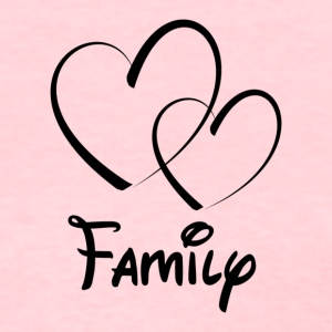 Heart Family - Women's T-Shirt