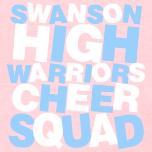 SWANSON HIGH WARRIORS CHEER SQUAD - Women's T-Shirt
