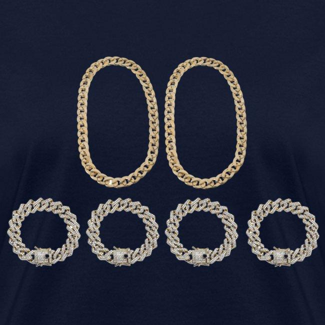 2 Chains 4 Bracelets