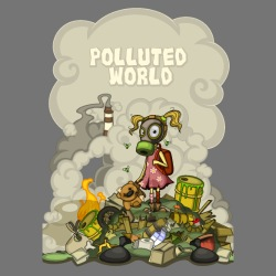 Polluted world