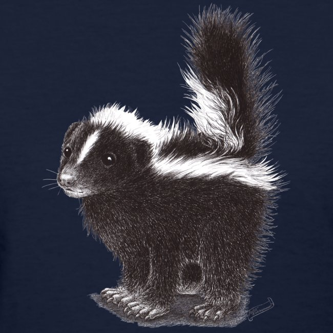 Cool cute funny Skunk