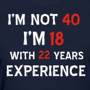 40th birthday designs - Women's T-Shirt