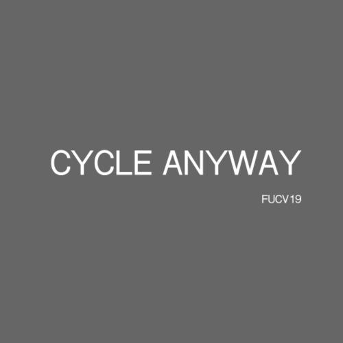 CYCLE, white font - Women's T-Shirt