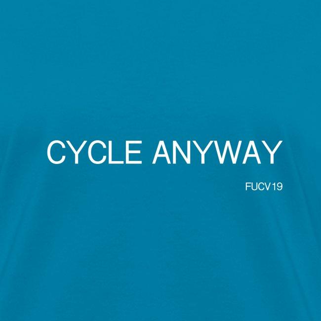 CYCLE, white font