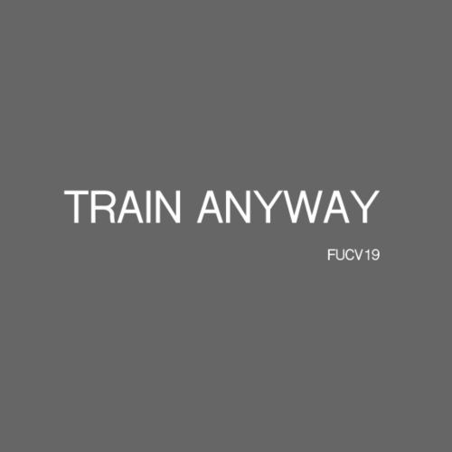 TRAIN WHITE font - Women's T-Shirt