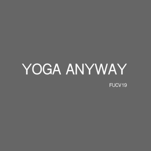 YOGA WHITE font - Women's T-Shirt