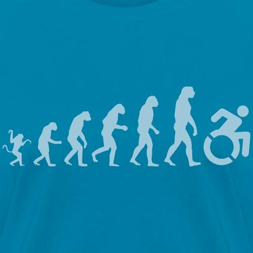 Wheelchair evolution, from walking to wheelchair - Women's T-Shirt