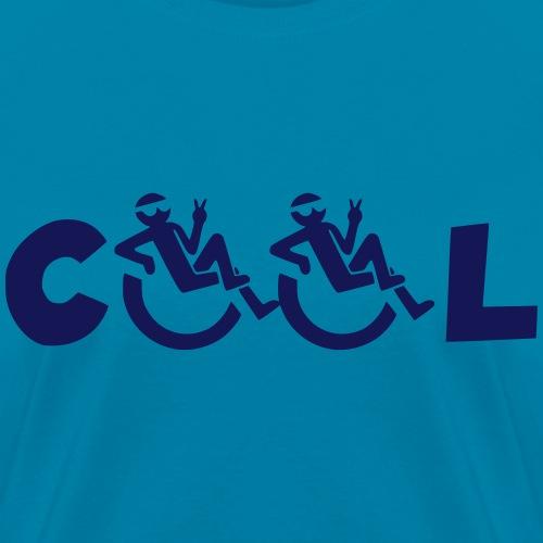 Cool in my wheelchair, chill in wheelchair, roller - Women's T-Shirt