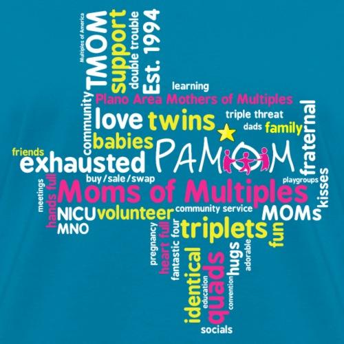 PAMOM Texas Tag Cloud - Women's T-Shirt