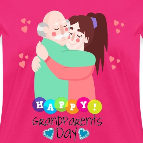 grandparents day gift T-Shirt ,National Grandparen - Women's T-Shirt