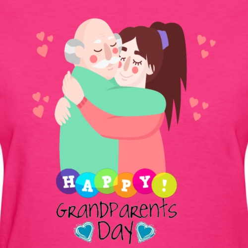 grandparents day gift T-Shirt ,National Grandparen - Women's T-Shirt