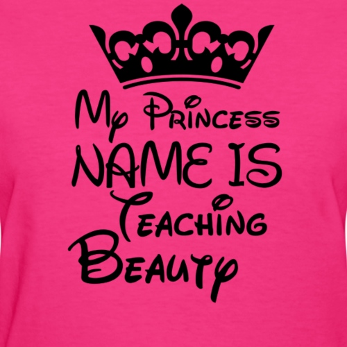 teaching beauty png - Women's T-Shirt